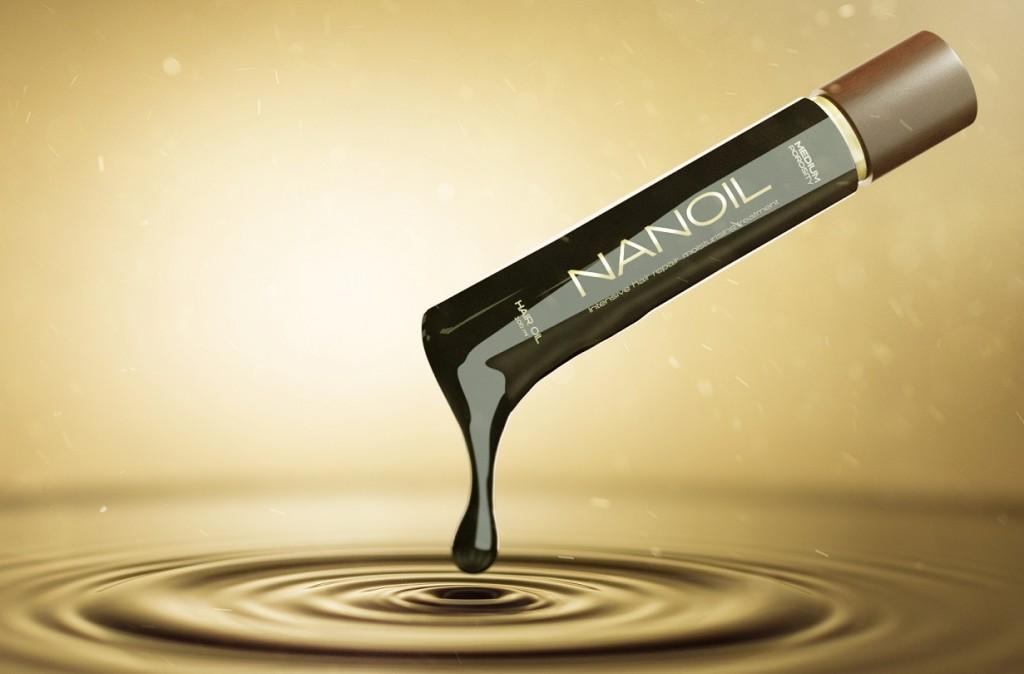 Nanoil voor hoog poreus haar